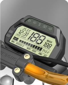 HKSGSV1 LCD Speedometer